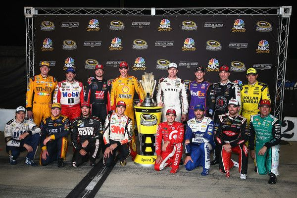 Chase Elliott Photos Photos - 2016 Chase for the Sprint Cup drivers pose for a photo after the NASCAR Sprint Cup Series Federated Auto Parts 400 at Richmond International Raceway on September 10, 2016 in Richmond, Virginia. - NASCAR Sprint Cup Series Federated Auto Parts 400