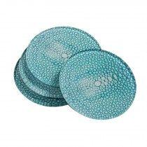 Shagreen Coasters - Set of 4