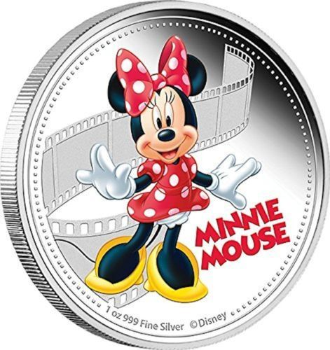 2014-Niue-Disney-Minnie-Mouse-Colorized-Silver-Proof-Coin-Perfect-Uncirculated