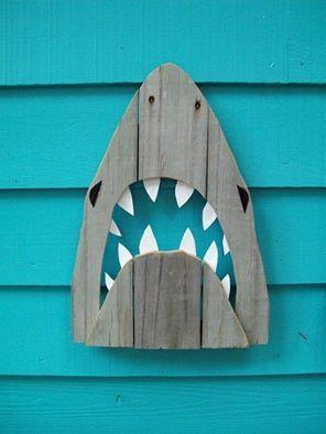 with shark :D