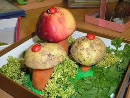 Картинки по запросу поделка из овощей для детей
