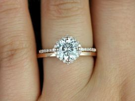 15 Simple Engagement Ring for Girls Who Love