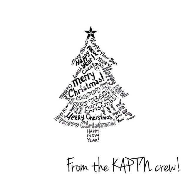 From behalf of the crew, we'd like to wish all our customers, fans, friends and all their families an awesome Merry Christmas & a Happy New Year. Looking forward to our new drop coming to ya'll next year. Peace out. #KAPTN #kaptnbrand #kaptncrew #seasonsgreetings #merrychristmas #leadnotfollow #motto #customers #fans #showingsomelove (at www.kaptnbrand.com)