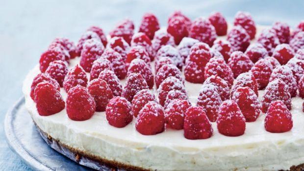 Cheesecake med hindbær | Femina