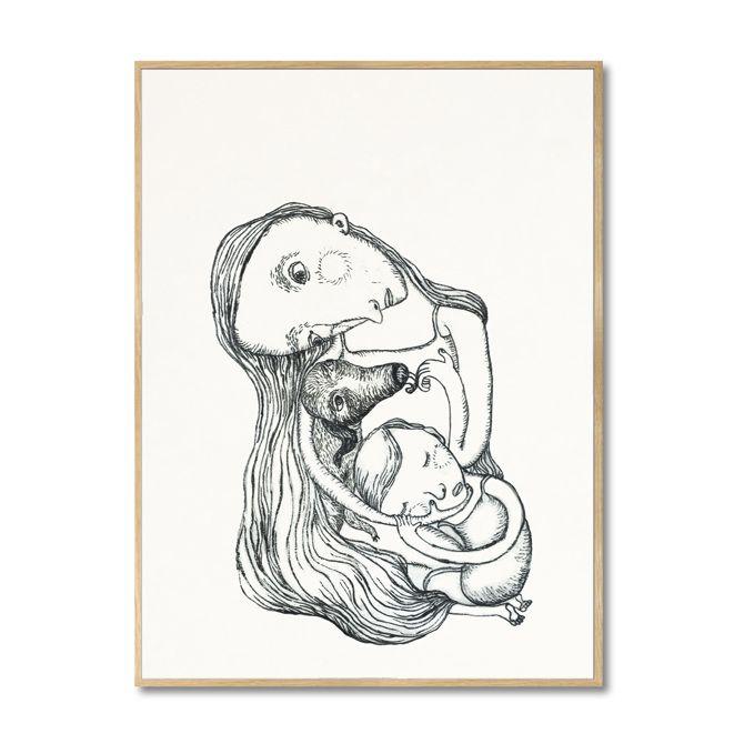 ARTWORK 21x29,7 cm ; A4 - Bob Noon