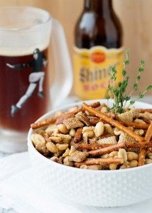 Toffee Nut Snack Mix from Baked Bree