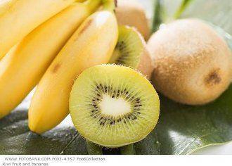 Ricetta Frullato energetico kiwi-banana (Frullati, bevande e cocktail) [VeganHome]