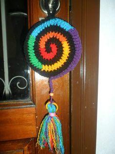 colgantes mandalas al crochet - Buscar con Google