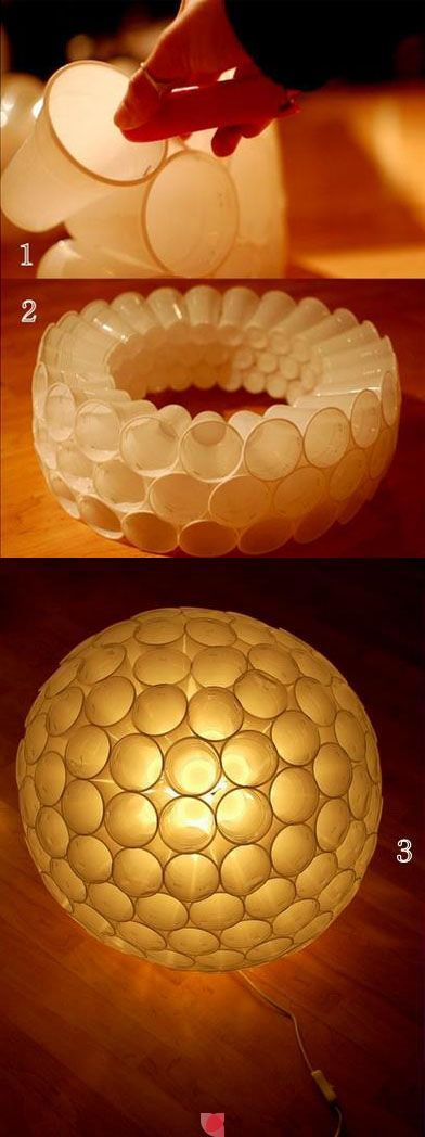 cute, easy & cheap light cover for kids room