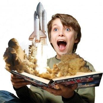 $19.95 Planets 3D Popar Augmented Reality Book by Digital Tech Frontier, Robert Siddell #books #kids #iOS