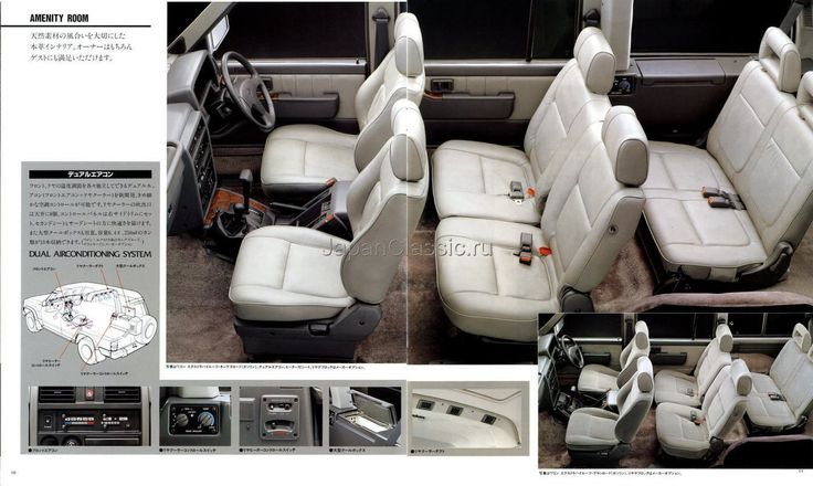 Nissan Safari/Patrol Y60 brochure