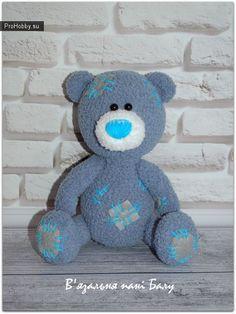 Медвежонок Тедди / Вязание игрушек / ProHobby.su | Вязание игрушек спицами и крючком для начинающих, мастер классы, схемы вязания