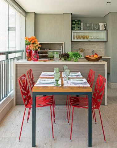 Veja aqui cinco ambientes que propiciam momentos deliciosos aos moradores