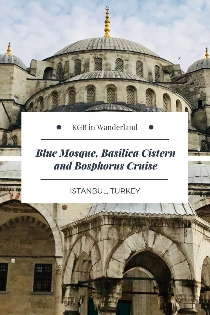 Istanbul Travel: Blue Mosque, Basilica Cistern and Bosphorus Cruise