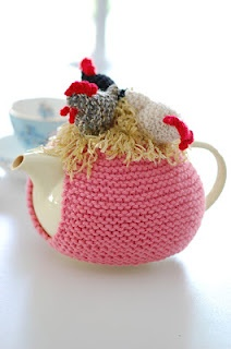 My favourite teapot and cozy.