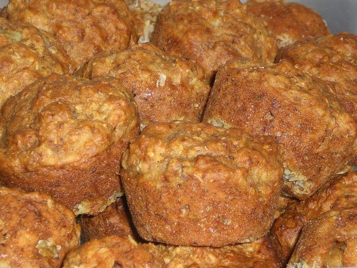 Banaan - Kokos Muffins