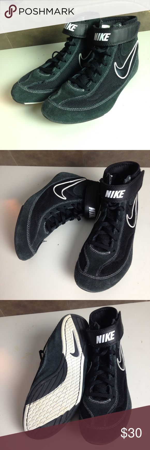 Nike wrestling shoes Nike wrestling shoes. They are almost new, they were only worn a couple times, and they are very good quality! Size 6 Nike Shoes Sneakers