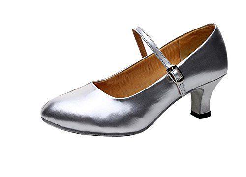 Gaorui Damen Frau Tango-Ballsaal-lateinische Salsa Walzer Charakter-Tanzschuhe Silber Rot Schwarz - http://on-line-kaufen.de/gaorui/38-eu-gaorui-damen-frau-tango-ballsaal-salsa-rot-3