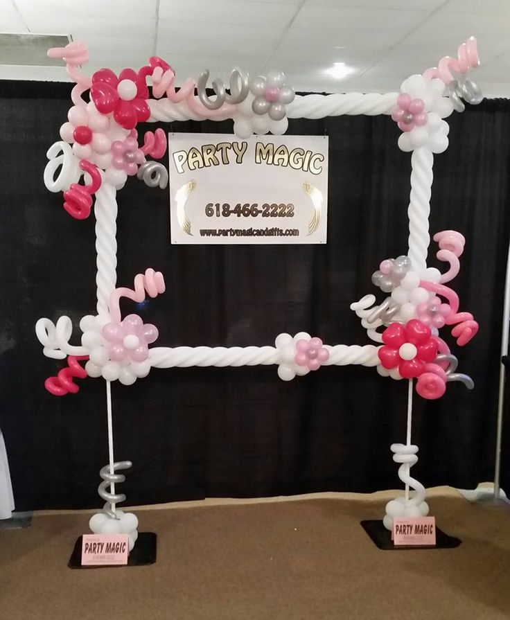 159 Best Images About Balloon Photo Frames On Pinterest