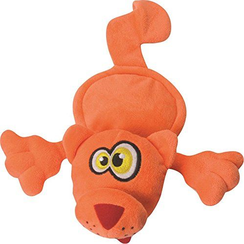 Hear Doggy Flattie Orange Cat Ultrasonic Silent Squeaker Dog Toy * You can get more details by clicking on the image.Note:It is affiliate link to Amazon.