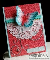 A Project by NinaB from our Stamping Cardmaking Galleries originally submitted 05/28/12 at 02:40 AM: Cards Ideas, Cardmaking Galleries, Paper Scrap, Cards Butterflies, Cards Bday Butterflies, Usar Blonda, Butterflies Cards, Greeting Card, Piensa Scrap