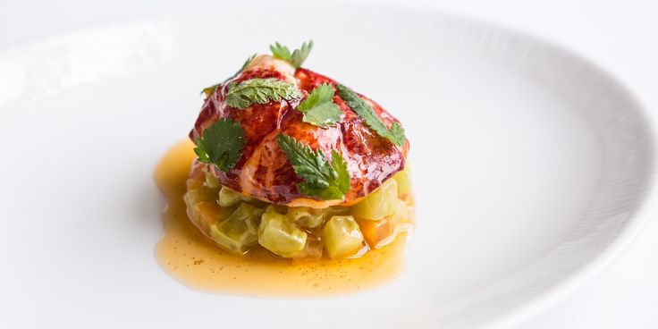 A beautifully simple lobster recipe from chef Russell Bateman, with sweet vanilla.