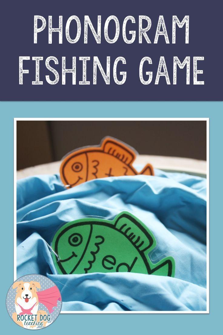 Phonogram Game Fishing Game Fishing Game Spelling Activities Literacy Games [ 1104 x 736 Pixel ]