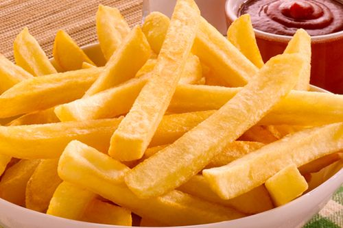 Tasty and cruspy French Fries & Finger chips in Gurgaon on Arooba restaurant. Recipe:  http://www.arooba.co.in