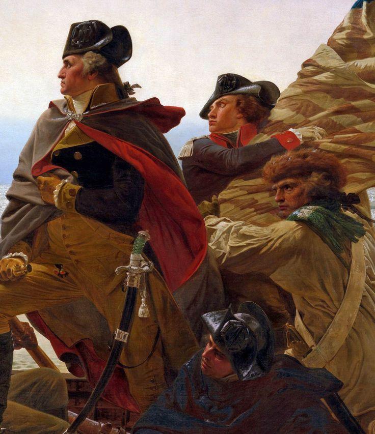 American Revolution - black cockades worn by Washington and his men