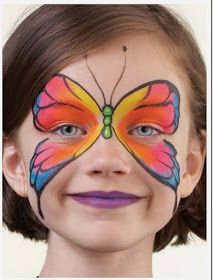 más y más manualidades: Maquillaje de fiesta para niños                                                                                                                                                                                 Más