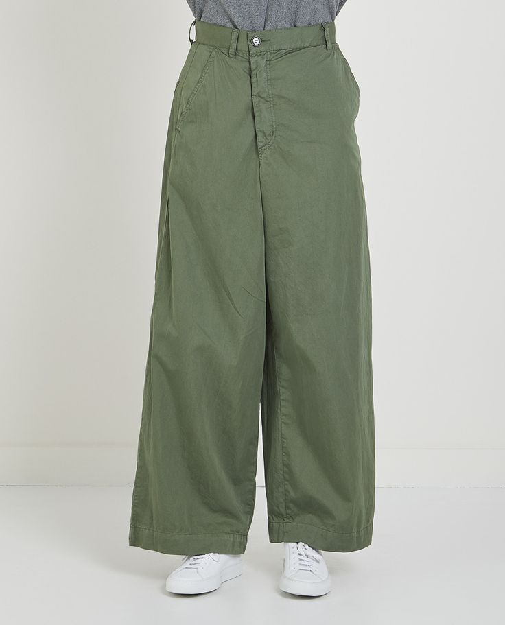 COMPACT TWILL PANT