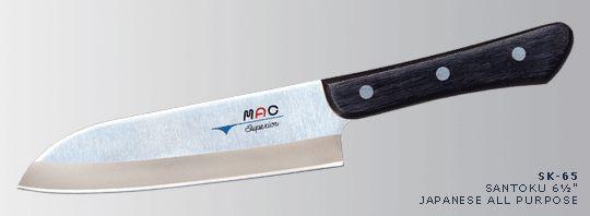 A great starter knife. MAC santoku knife. fantastic.