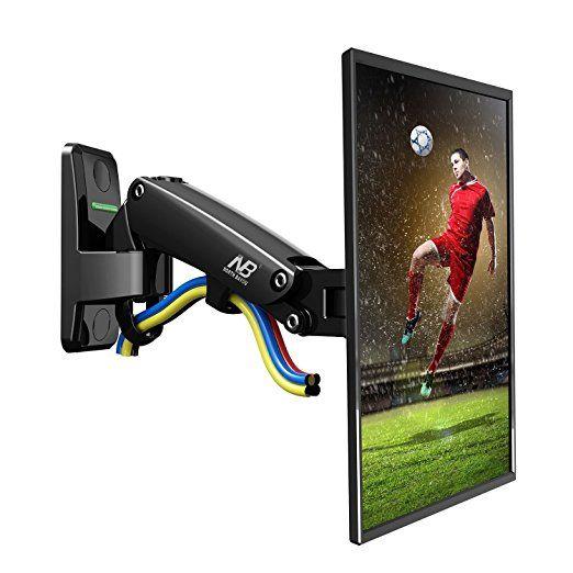 NB F120 - Support mural pour écrans PC plats LCD LED 17 - 27 pouces