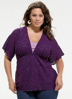 Luciana Top - Plus Size Clothing Canada