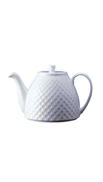 'Night & Day' Small Checkerboard Teapot