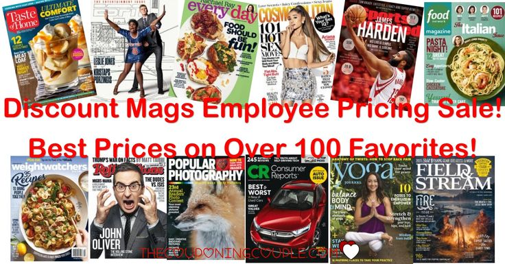 WOOHOO! Get the best price around on magazines! Lots of great gift ideas, too!  Click the link below to get all of the details ► http://www.thecouponingcouple.com/discount-mags-employee-pricing-sale-pay-what-employees-pay/ #Coupons #Couponing #CouponCommunity  Visit us at http://www.thecouponingcouple.com for more great posts!