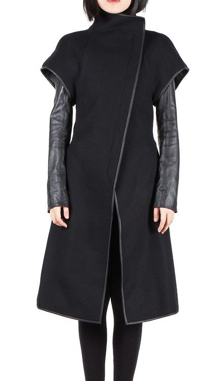 Gareth Pugh | Double sleeve trench