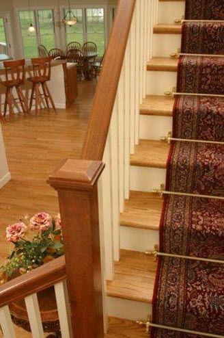 Tringles pour tapis d'escaliers - Collection Dynasty - Décor Laiton poli