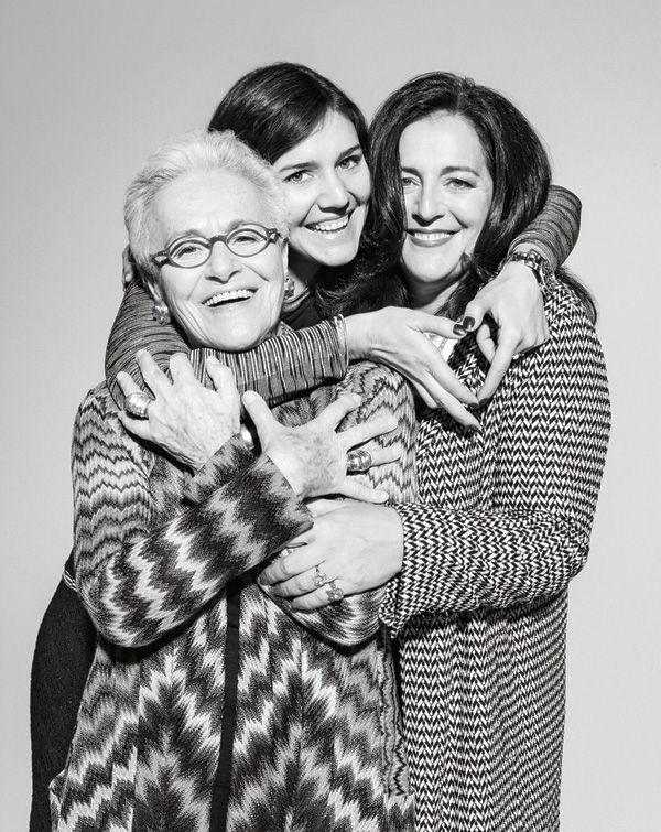 Rosita, Angela e Margherita Missoni #DesignerSpotlight #Missoni