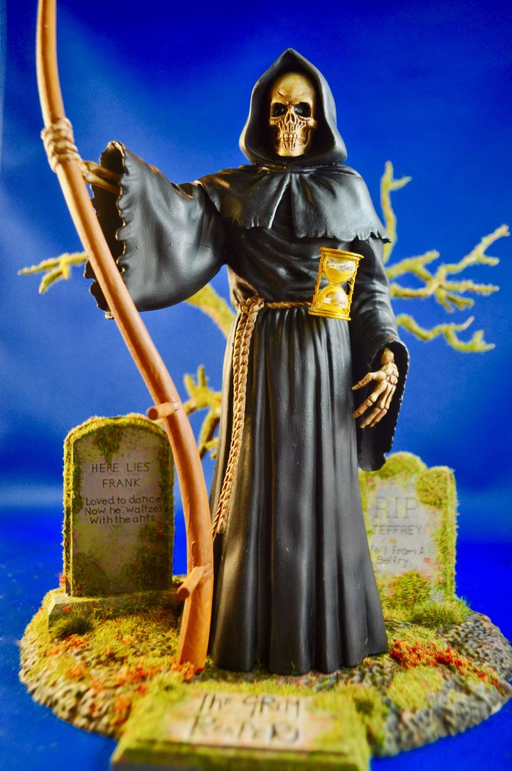 Don't fear the Reaper.  Photo and build-up by Stan G. Hyde