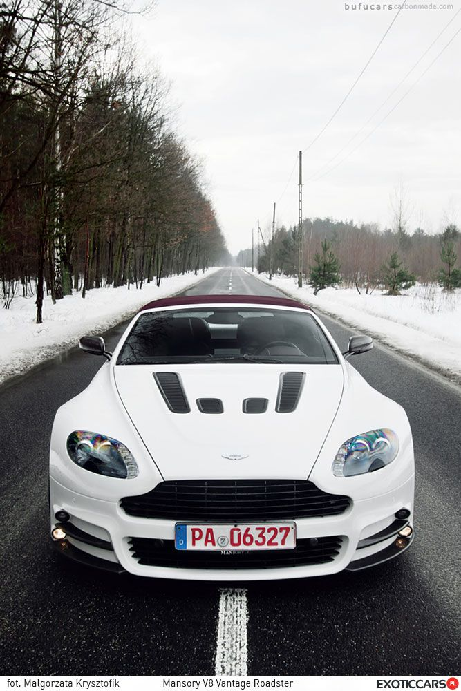 If ordinary Aston Martin is not enough, why don't try Mansory V8 Vantage Roadster, for example?