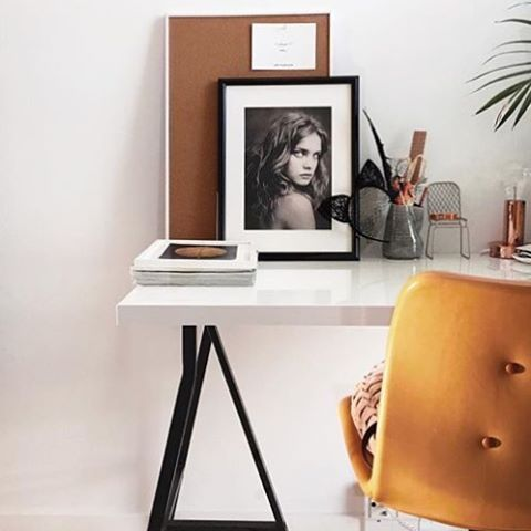 Primum Chair in a chic home office.