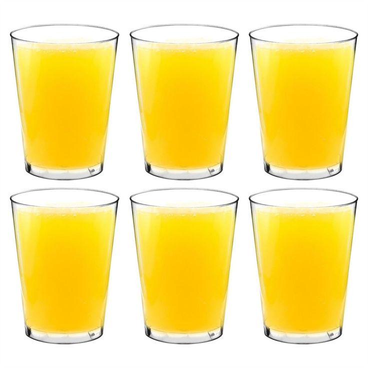 Plastic Outdoor Tumblers / Hiballs Glasses - Pack Of 6