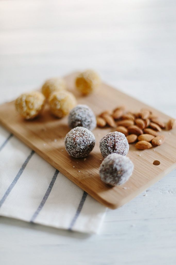 Raw salted chocolate balls