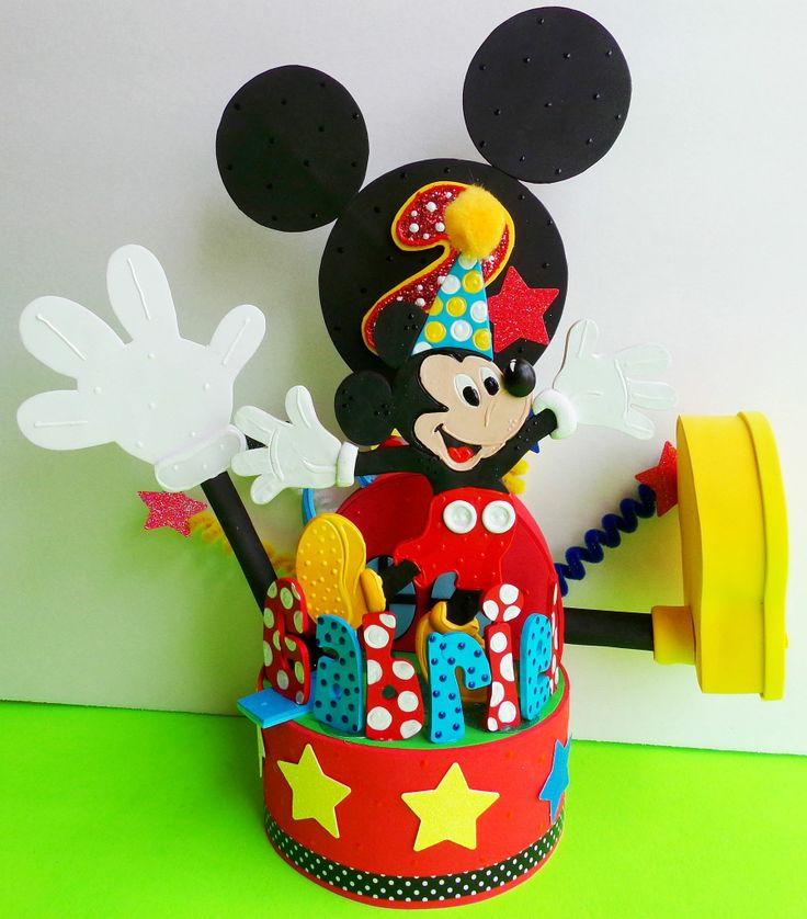 149 best Mickey and Minnie Mouse Birthday cake topper images on