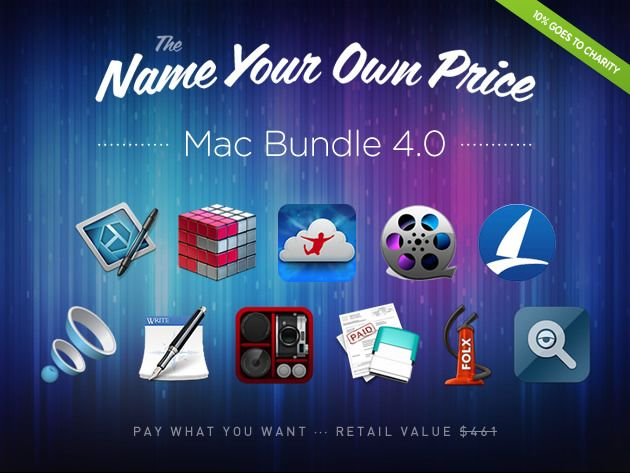 Mac Bundle 4.0 ft. SnagIt + Flux 4 - Get 11 Explosive Mac Apps. Donate to Charity. Name Your Own Price.