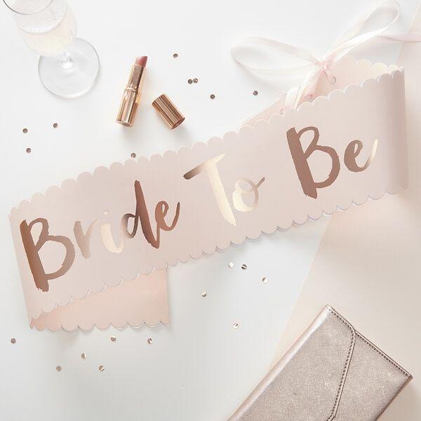 jga schaerpe bride to be