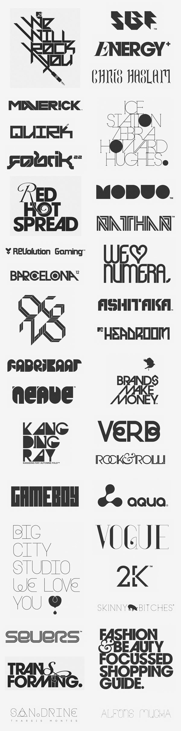 Logos and Logotypes by Anthony Neil Dart