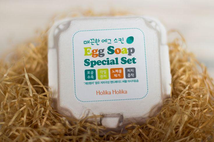 Holika Holika Eggs Soap: Нестандартный взгляд на яичные маски