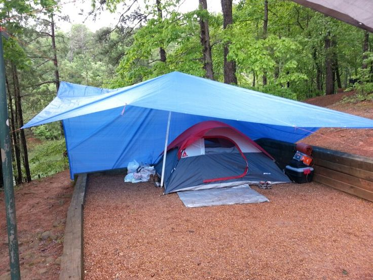 Camping in the rain...skills 2